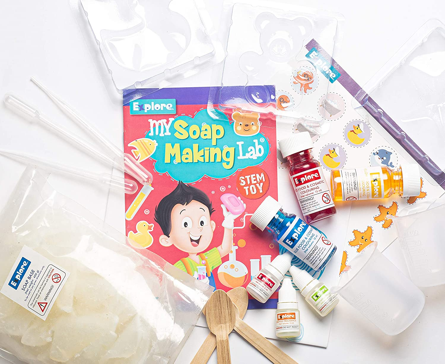 Explore.. | STEM Learner | My Soap Making Lab (Learning ...