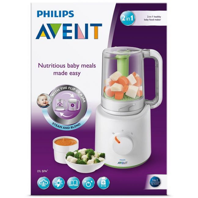 Philips Avent Scf870 21 Combined Baby Food Steamer And Blender Kukus Toys